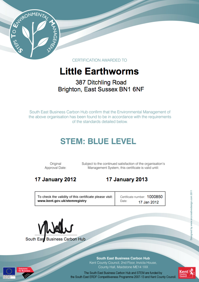 blue award